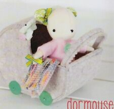 PATTERN - Dormouse - cute felt softie toy PATTERN from May Blossom