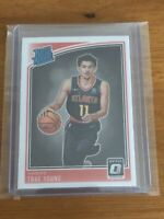 Trae Young 2018  Donruss Optic Rated Rookie RC #198 Hawks