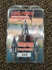 Steel Force Fixed Blade Premium Series Broadhead 210gr