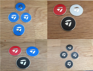 TaylorMade golf ball markers with integrated magnet - Asstd colours - Two sizes