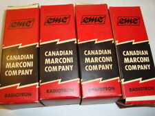 One Matched Quad of 6L6GC Grey Plate Tubes, Marconi-Radiotron, NIB