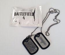 Dog Tag - Battlefield 4 IV - Collector - Neuf