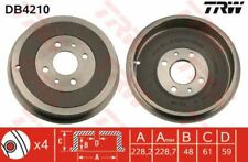 DB4210 TRW Brake Drum Rear Axle