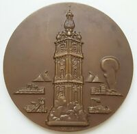 Belgium - bronze medal Electricity Company of Borinage 1903-1953 by Dubie