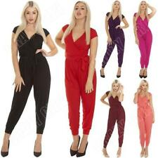 Cap Sleeve Unbranded Regular Jumpsuits & Playsuits for Women