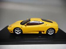 Ferrari 360 Modena amarillo 1/43 Kyosho Dnx40