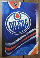 2013 Canada Nhl Canada Post Edmonton Oilers Team Jersey Pre-Paid Postcard Rare