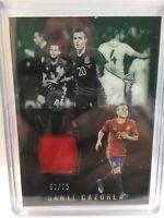 Panini Noir Soccer 2016-17 Relic Memorbilia Santi Cazorla Spain 69/75