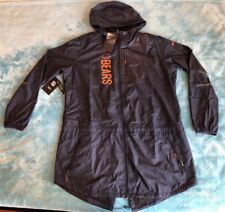Nike Womens Hooded Jacket NFL Apparel Chicago Bears Windbreaker XL 9204b9b87