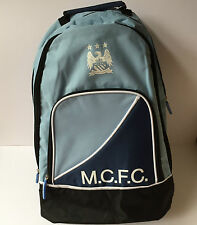 MAN CHESTER CITY BACKPACK MENS RUCKSACK GYM BAG NEW £10.99
