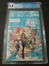 CROSSOVER #4 - CGC 9.8 - 1:10 VIRGIN VARIANT - GIANT SIZED X-MEN HOMAGE CATES
