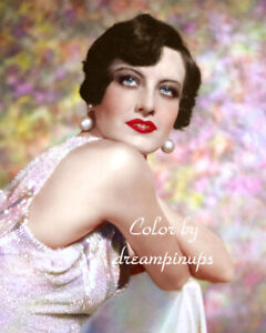JOAN CRAWFORD 1928 Hollywood Color Portrait by RUTH HARRIET LOUISE