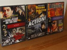 6 Action Films - Breaker! Breaker!, Killer Force, Runaway Train, Delta Force 2..
