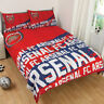 Official Arsenal F.C.Impact Double Duvet Cover Bedding Set
