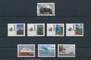 LO08503 Ecuador turtles views landscapes fine lot MNH