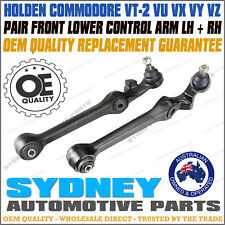Holden Commodore VT VU VX VY VZ Front Lower Control Arms Pair LH RH Brand NEW