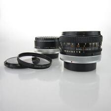 Canon FD S.C. 1:1.8 50mm Objektiv + Kenko Konverter + Canon Skylightfilter