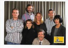QSL Radio Vlaanderen International Brussels Belgium 1996 Staff Windross Rans  DX