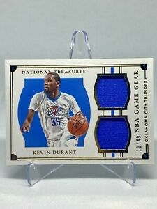 2015-16 Panini National Treasures KEVIN DURANT Dual Jersey /49 SP #40