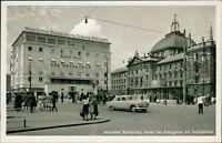 Ansichtskarte München Karlsplatz Hotel Der Königshof mit Justizpalast (Nr.9120)