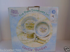 2001 Precious Moments By Enesco Ceramic Dinner Set