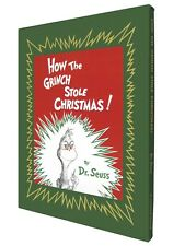 Hardcover Dr. Suess How the Grinch Stole Christmas: Deluxe Edition