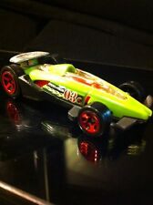 Hot Wheels Carbide Stunt Team No 3 Green Race Car Rare