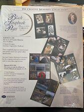Creative Memories Big Book 12x15 BLACK Scrapbook Pages Refills NIP