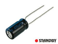 25pcs  470uF-10V 105`C, Capacitor electrolytic JAMICON 6,3X11mm series TK