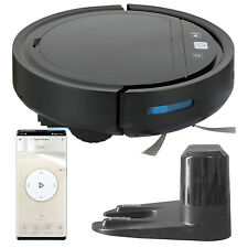 Vacuum Robot WiFi Smart Floor Cleaning Mop Sweeper Machine Self Auto-Charge Base