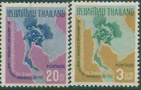 Thailand 1965 SG529-532 UPU part set MNH