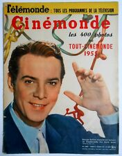 ►CINE MONDE 1065/1954-GEORGES GUETARY-ANDREE DEBAR-JEAN GABIN-MAURICE RONET...