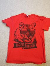 Charlie Sheen Tiger Blood Signature T-Shirt - Size Small S - Official Actor