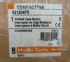 GROUPE SCHNEIDER MERLIN GERIN Molded Case Switch 521204P5 NJHN36000S40AB