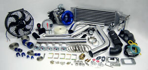 Custom Race T3T4 T3 T4 TurboCharger Turbo Boost Kit NEW DESIGN STREET STRIP SALE