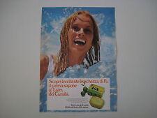 advertising Pubblicità 1973 SAPONE FA AL LAIM