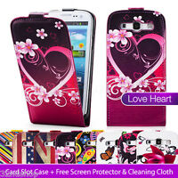 NEW PU LEATHER WALLET CASE COVER FOR SAMSUNG GALAXY S3 I9300 SCREEN PROTECTOR