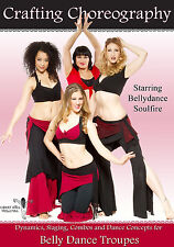 Crafting Choreography with Bellydance Soulfire BellyDance Instructional Practice