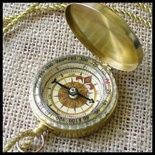 Steampunk Victorian PIRATE COMPASS Vampire--NECKLACE party umbrellalaboratory