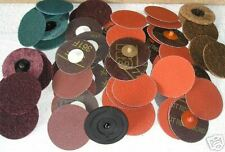 75mm Roloc quick change grinding and buffing discs - genuine 3M (bargain).