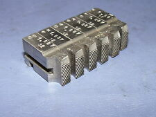 """Geometric 1 11/16""""-32 Milled Chasers, For 1 3/4"""" Ds Die Head, Lead Threads Groun"""