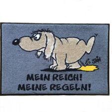 Waschbare Fußmatte ©Uli Stein HUND - Mein Reich! Meine Regeln! 40x60 cm wash+dry