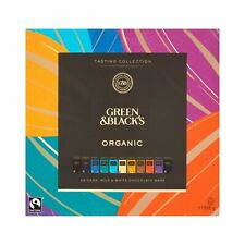 Green & Black's Organic Tasting Collection Boxed Chocolates Gift 395 g