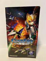 Nintendo Gamecube Manual Only Starfox Assault