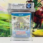 Legend of Zelda The Wind Waker HD Wii U Blue Cover No Foil 9.6 A++ WATA