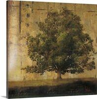 Aged Tree I Canvas Wall Art Print, Tree Home Decor
