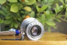 Industar-22 KMZ 1:3.5 F= 50mm collapsible lens M39 L39  LTM Zorki Tested
