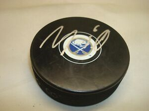 Marco Scandella Signed Buffalo Sabres Hockey Puck Autographed 1A