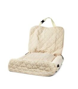 QVC Cozee Paws Cozee Home Car Bolster Sofa Dog Bed, Cream, Washable, Brand New