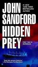 HIDDEN  PREY  by  JOHN SANDFORD  (2004 Paperback).   ACCEPTABLE  CONDITION